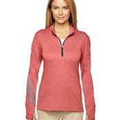 Ladies' Brushed Terry Heather Quarter-Zip