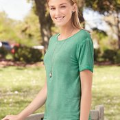 Women's Oasis Wash Drop Tail T-Shirt