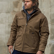 Yukon Canvas Hooded Jacket