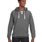 Pennant Lace-Up Faceoff Hoodie