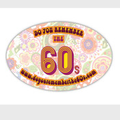 Do You Remember The 60s Decal