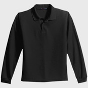 Youth Long Sleeve Silk Touch™ Polo