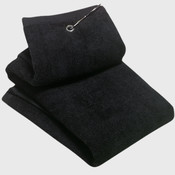 Grommeted Tri Fold Golf Towel