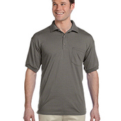 DryBlend™ 6 oz., 50/50 Jersey Polo with Pocket