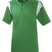 Adult Pro Placket Performance Henley Tee