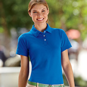 Ladies' Ring-Spun Piqué Polo
