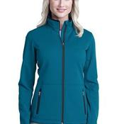 Ladies Pique Fleece Jacket