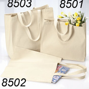 12 Ounce Cotton Canvas Tote