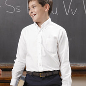 Boys' Long Sleeve Oxford Shirt