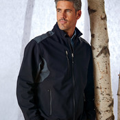 UltraClub® Men's Two-Tone Soft Shell Jacket