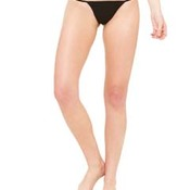 Ladies' Cotton/Spandex Thong Bikini