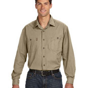 Men's Long-Sleeve Brick Workshirt