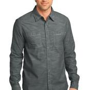 ™ Mens Long Sleeve Washed Woven Shirt