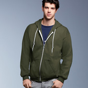 Men's Fashion Full-Zip Hooded Sweatshirt