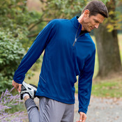 UltraClub Adult Cool & Dry Sport 1/4-Zip Pullover