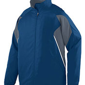 Adult Water Resistant Polyester Diamond Tech Jacket