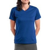 Dri Mesh ® Ladies V Neck T Shirt