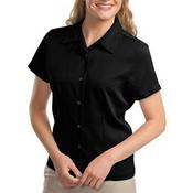 Ladies Easy Care Camp Shirt