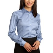 Ladies Non Iron Pinpoint Oxford