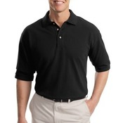 Tall Heavyweight Cotton Pique Polo
