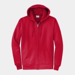 Unisex 50/50 Full-Zip Hooded Sweatshirt Thumbnail
