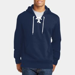 Unisex Hockey Style Hooded Sweatshirt Thumbnail