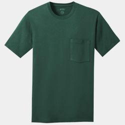 Unisex 5.4oz Cotton Pocket T-Shirt Thumbnail
