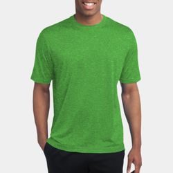 Unisex Heather Poly T Shirt Thumbnail