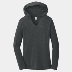 Ladies Tri-Blend Long Sleeve Hoodie Thumbnail