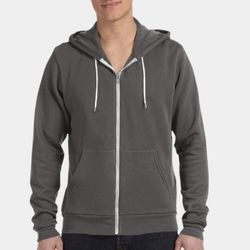 Unisex Poly-Cotton Fleece Full-Zip Hoodie Thumbnail