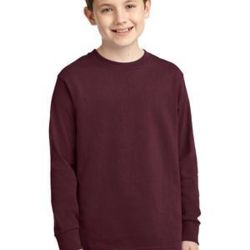 Youth 5.4oz Cotton Long Sleeve T-Shirt Thumbnail