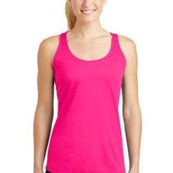 Ladies Racerback Poly Tank Thumbnail