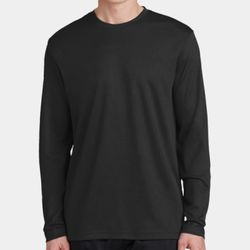 Unisex Racermesh Poly Long Sleeve T-Shirt Thumbnail