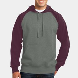 Unisex Colorblock Hooded Sweatshirt Thumbnail