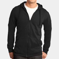 Adult Lightweight Full Zip Sweatshirt Thumbnail